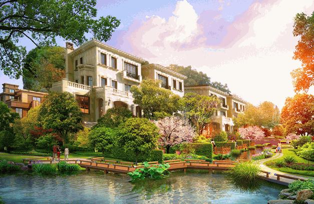 坐拥生态涵养核心 以别墅致敬生活美学